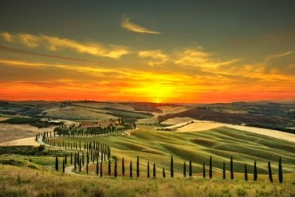 Rome to Tuscany by Car
