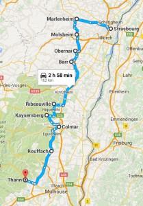Autumn Wine Tour Road Trip in Alsace France