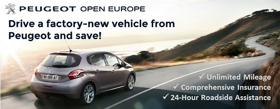 Peugeot Open Europe: Buyback Car Leasing